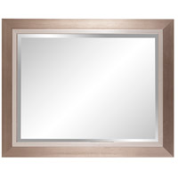 Howard Elliott Collection 69043 Chicago 18 X 18 inch Brushed Silver Wall Mirror, Rectangle alternative photo thumbnail