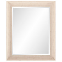 Howard Elliott Collection 69060 Parker 34 X 28 inch Creamy White and Wood Grain Wall Mirror, Rectangle photo thumbnail