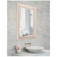 Howard Elliott Collection 69060 Parker 34 X 28 inch Creamy White and Wood Grain Wall Mirror, Rectangle alternative photo thumbnail