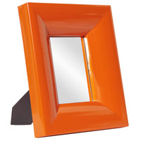 Candy 12 X 10 inch Orange Mirror Home Decor, Rectangle