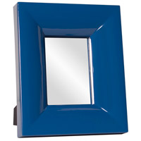Candy 12 X 10 inch Cobalt Blue Mirror Home Decor, Rectangle