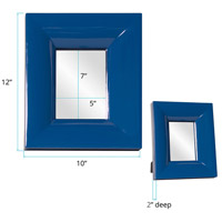 Howard Elliott Collection 78005 Candy 9 X 9 inch Cobalt Blue Table Mirror, Rectangle alternative photo thumbnail