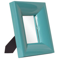 Candy 12 X 10 inch Teal Mirror Home Decor, Rectangle, Large