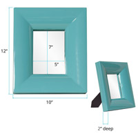 Howard Elliott Collection 78006 Candy 9 X 9 inch Teal Table Mirror, Rectangle, Large alternative photo thumbnail