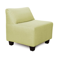 Pod Willow Green Accent Chair