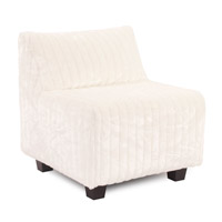 Howard Elliott Collection 823-256 Mink Snow Accent Chair photo thumbnail
