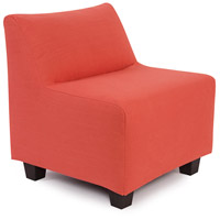 Pod Poppy Red Accent Chair