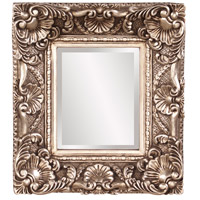 Horace 17 X 15 inch Antique Silver Leaf Wall Mirror Home Decor, Rectangle