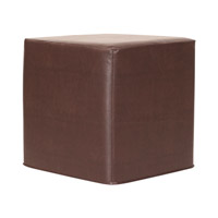 Howard Elliott Collection 850-192 Avanti 17 inch Deep Brown Ottoman photo thumbnail