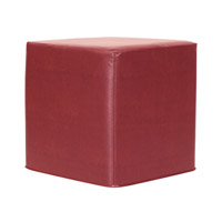 Howard Elliott Collection 850-193 Signature 17 inch Deep Red Ottoman