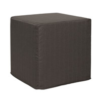 Sterling Charcoal Gray Ottoman