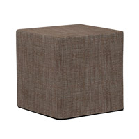 Howard Elliott Collection 850-891 Coco 17 inch Slate Gray Ottoman photo thumbnail