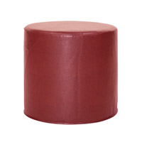 Signature 17 inch Deep Red Ottoman