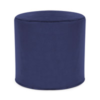Howard Elliott Collection 851-972 Bella 17 inch Bold Royal Blue Ottoman photo thumbnail