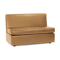Howard Elliott Collection 857-191 Avanti Bronze Sofa photo thumbnail