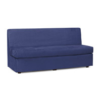 Howard Elliott Collection 858-972 Slipper Royal Blue Velvet Fabric Sofa