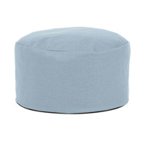Howard Elliott Collection 871-200 Accent Furniture 12 inch Blue Ottoman photo thumbnail
