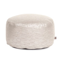 Howard Elliott Collection 871-239 Glam 12 inch Sand Ottoman