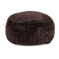 Howard Elliott Collection 871-285 Mink 12 inch Brown Ottoman photo thumbnail