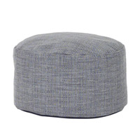 Howard Elliott Collection 871-889 Accent Furniture 12 inch Blue Ottoman photo thumbnail