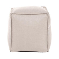 Signature Tan Ottoman, Square
