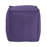 Signature Purple Ottoman, Square