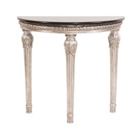 Howard Elliott Collection 91015 Half Moon 16 inch Silver End Table photo thumbnail