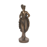 Howard Elliott Collection 91022 Grecian Woman Bronze Statue photo thumbnail