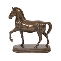 Howard Elliott Collection 91025 Trotting Horse 13 X 12 inch Sculpture