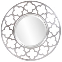 Howard Elliott Collection 92007 Gaelic 20 X 20 inch Brushed Nickel Wall Mirror, Round photo thumbnail