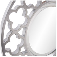Howard Elliott Collection 92007 Gaelic 20 X 20 inch Brushed Nickel Wall Mirror, Round alternative photo thumbnail