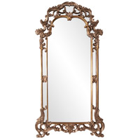 Howard Elliott Collection 92024 Imperial 83 X 44 inch Mottled Bronze Wall Mirror, Rectangle, Antique Silver Accents photo thumbnail