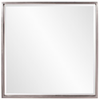 Howard Elliott Collection 92039 Isa 40 X 40 inch Bright Nickel Wall Mirror, Square photo thumbnail