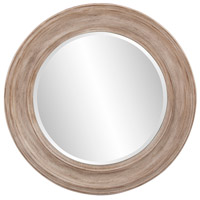 Howard Elliott Collection 92115 Maisey 36 X 36 inch Rustic Brown Wall Mirror, Round photo thumbnail