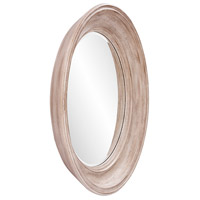Howard Elliott Collection 92115 Maisey 36 X 36 inch Rustic Brown Wall Mirror, Round alternative photo thumbnail
