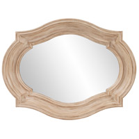 Howard Elliott Collection 92118 Aubrey 36 X 36 inch Rustic Brown Wall Mirror, Large photo thumbnail