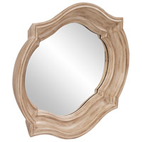 Howard Elliott Collection 92118 Aubrey 36 X 36 inch Rustic Brown Wall Mirror, Large alternative photo thumbnail
