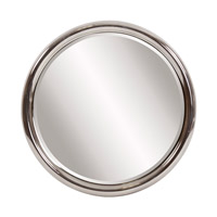 Howard Elliott Collection 92149 Orland 31 X 31 inch Bright Nickel Wall Mirror, Round photo thumbnail
