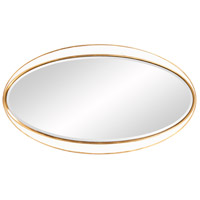 Howard Elliott Collection 92150 Rania 49 X 28 inch White and Gold Wall Mirror alternative photo thumbnail