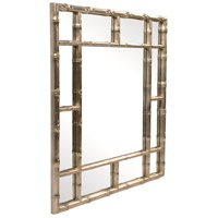 Howard Elliott Collection 92189 Bamboo 40 X 40 inch Country Silver Wall Mirror alternative photo thumbnail