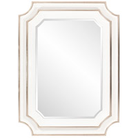 Howard Elliott Collection 92190 Dante 48 X 36 inch Glossy White Wall Mirror photo thumbnail