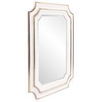 Howard Elliott Collection 92190 Dante 48 X 36 inch Glossy White Wall Mirror alternative photo thumbnail