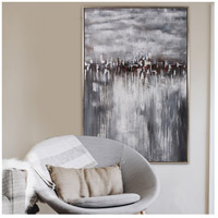 Howard Elliott Collection 92234 In the Moonlight 60 X 40 inch Hand Painted Wall Art alternative photo thumbnail