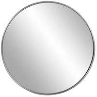 Howard Elliott Collection 94012 Copenhagen 30 X 30 inch Brushed Silver Wall Mirror photo thumbnail