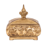 Howard Elliott Collection 97027 Signature 12 X 7 inch Gold Decorative Box