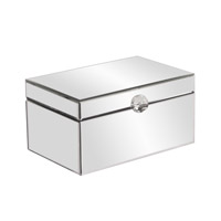 Howard Elliott Collection 99036 Signature 15 X 10 inch Decorative Box, Mirrored, Small