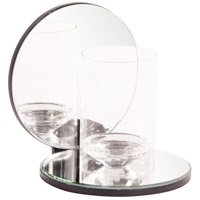 Howard Elliott Collection 99046 Signature 8 X 8 inch Candle Holder, Mirrored