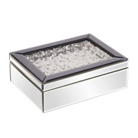 Signature 12 X 8 inch Jewelry Box, Mirrored