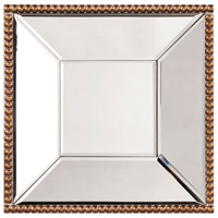 Howard Elliott Collection 99076 Lydia 12 X 12 inch Antique Gold Wall Mirror photo thumbnail