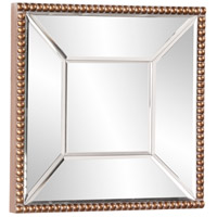 Howard Elliott Collection 99076 Lydia 12 X 12 inch Antique Gold Wall Mirror alternative photo thumbnail
